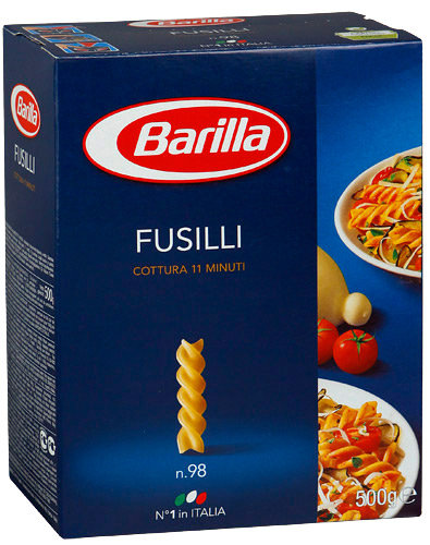 Fusilli Barilla N.98