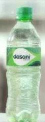 Agua Dasani con Gas