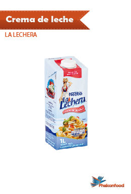 Crema de Leche La Lechera