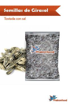 Semilla de Girasol Tostada con Sal