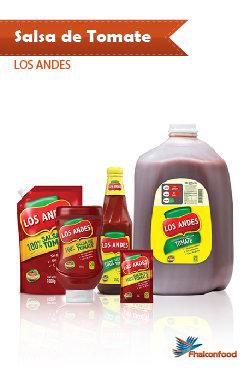 Salsa de Tomate Los Andes