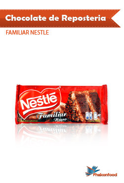 Chocolate de Reposteria Nestle Familiar