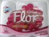 Papel Higiénico Kleenex Flor