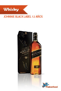 Whisky Johnnie Black Label 12 Años