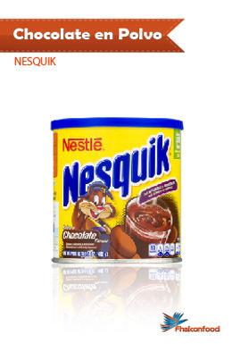 Nesquik Chocolate en Polvo