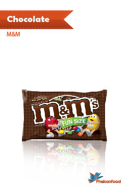 Chocolate M & M