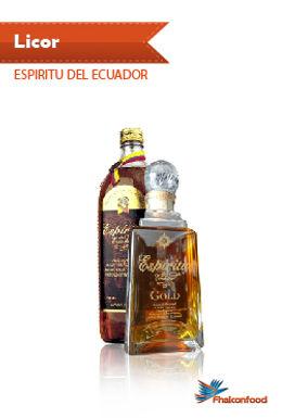 Licor Espíritu del Ecuador