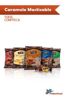 Caramelo American Tofee Confiteca