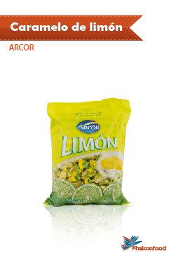 Caramelo Arcor de Limón