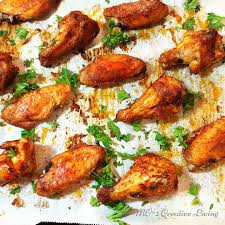 Mexican Style Chicken Wings
