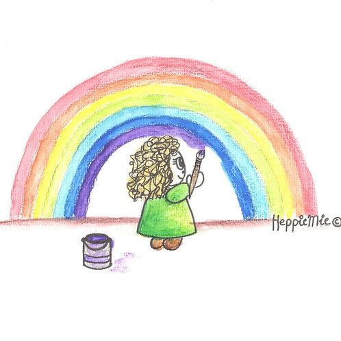 HEppie ♥ ART regenboog