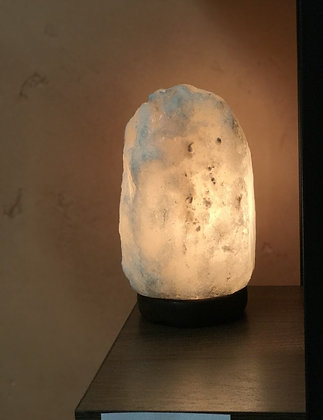 Small White Salt Lamp