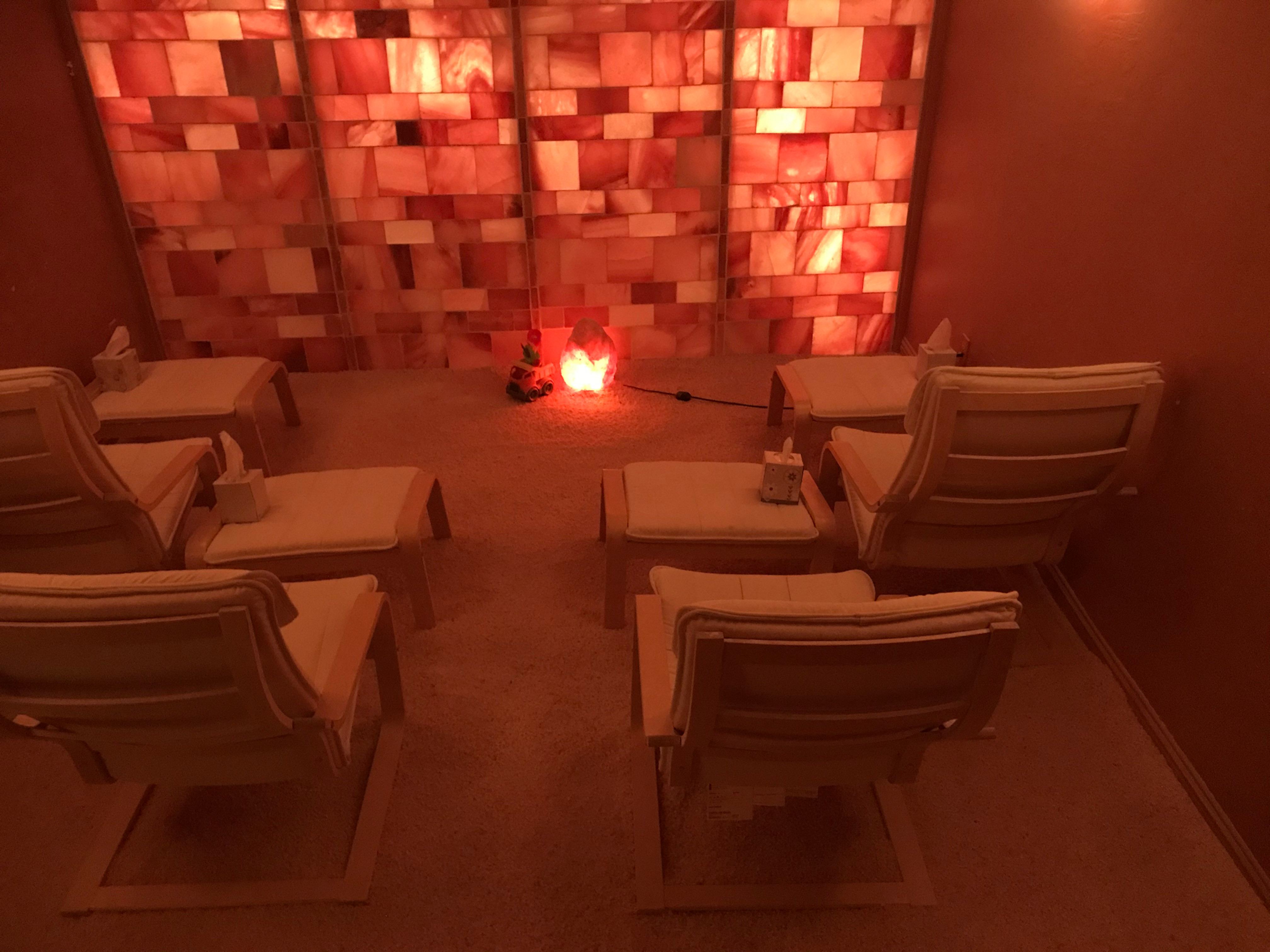 Private Halotherapy Room 1