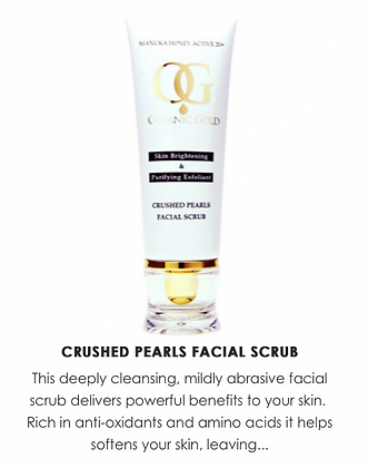 Ocean Facial Scrub With Crushed Pearls