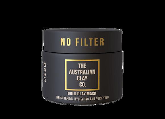 NO FILTER GOLD CLAY MASK