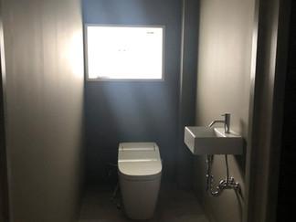トイレができました