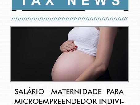 Salário maternidade para MEI