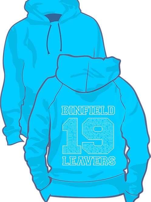 Child Size Binfield Leavers Hoodie
