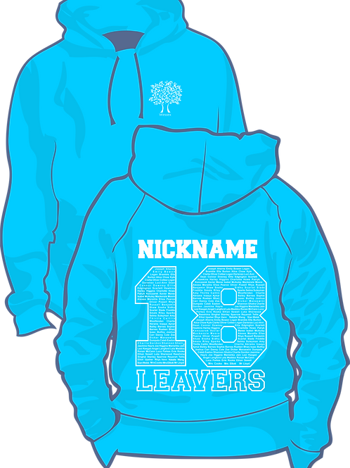 Wessex Primary Hoodie with Nickname