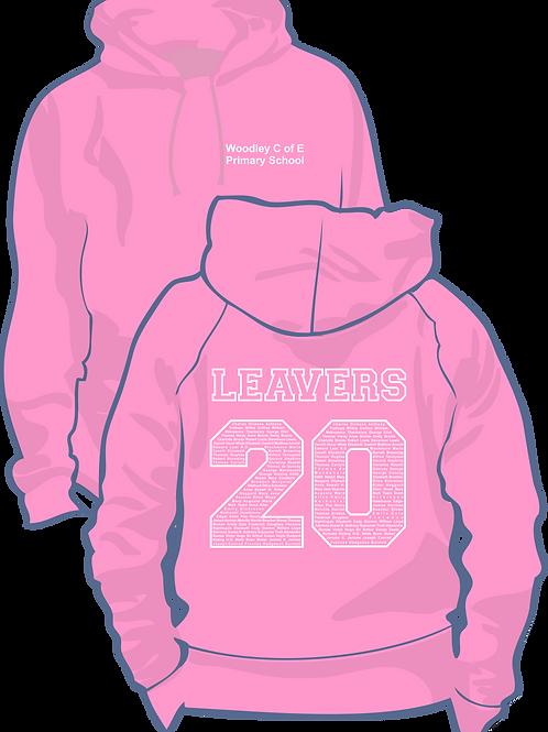 Woodley C of E leavers Hoodie 2020