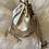 Thumbnail: Sac bourse en cuir doré