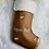 Thumbnail: Chaussette de Noël beige et marron
