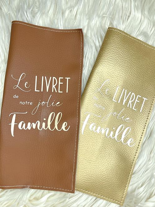 Protège livret de famille simili cuir