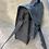 Thumbnail: Sac écolier gris anthracite velour et paillettes