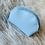 Thumbnail: Portes monnaies arrondis bleu