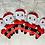 Thumbnail: Decorations à suspendre Père Noël