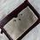 Thumbnail: Porte monnaie en cuir aubergine et doré
