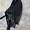 Thumbnail: Sac écolier noir et simili cuir python