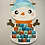 Thumbnail: Calendrier de l'avent Noël bonhomme de neige