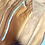 Thumbnail: Sac écolier en cuir chamois et doré