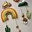 Thumbnail: Mobile mural lamas