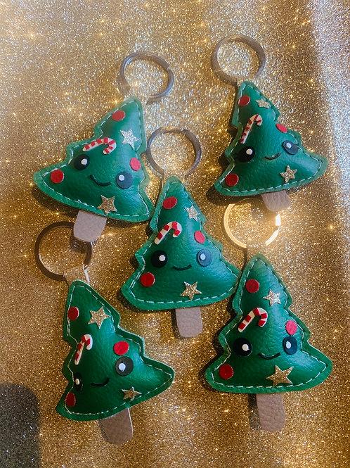 Porte clé sapin de Noël