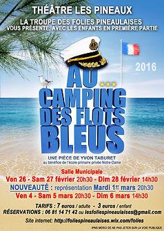 Au camping des flots bleus Les Folies PIneaulaises 2016