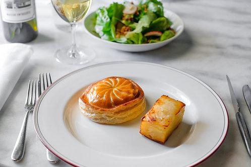 Végétarian Entrecôte, two courses for one