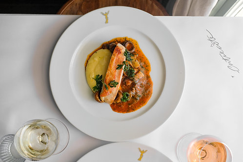 Poulet Chasseur for two