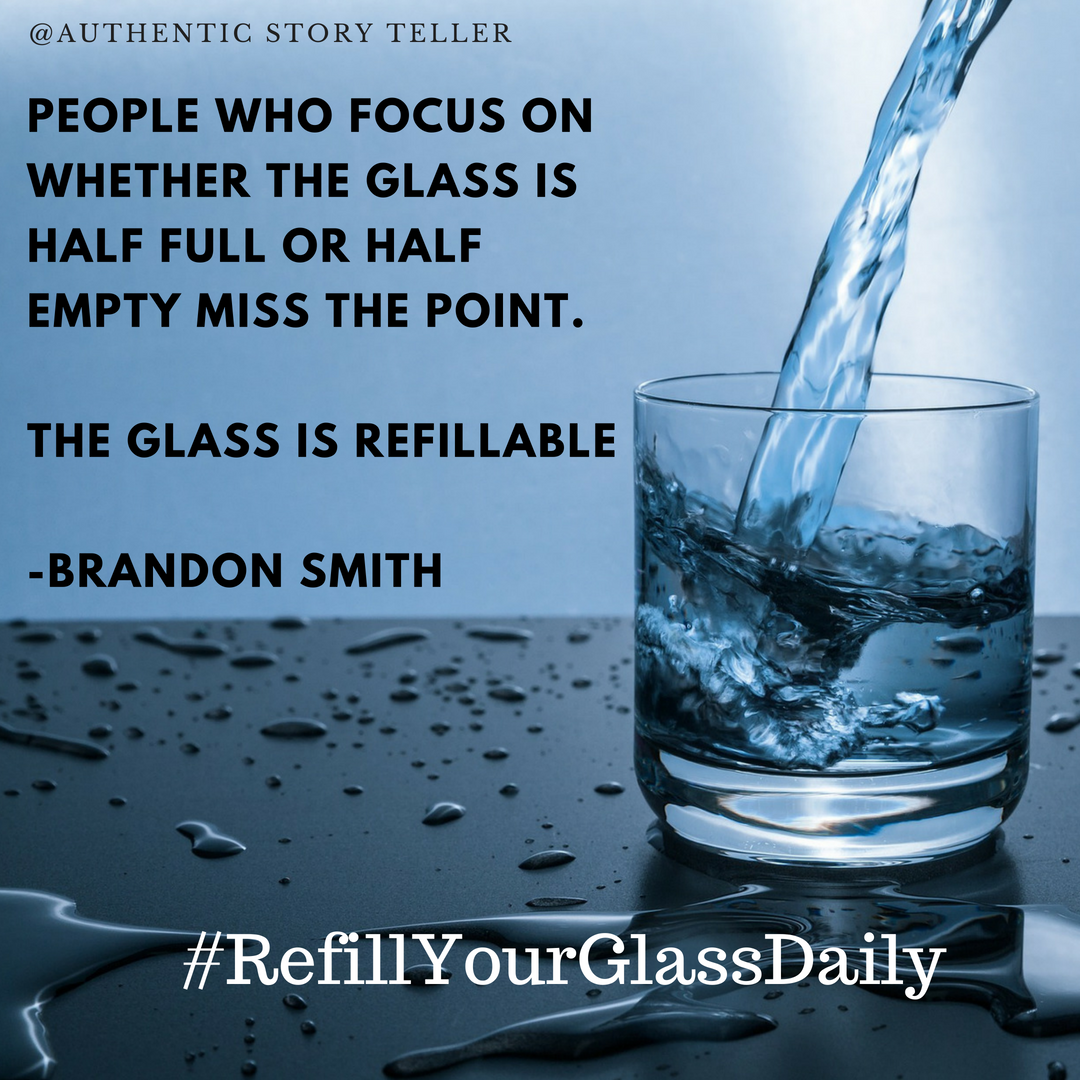 THE GLASS IS REFILLABLE (1)