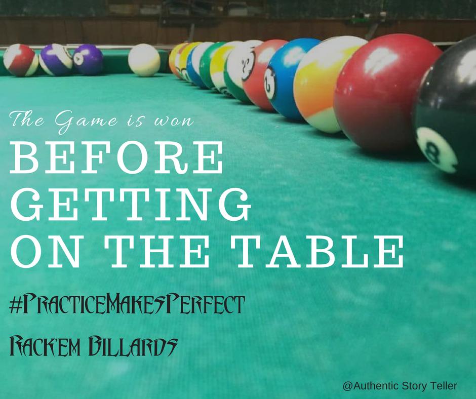 #PracticeMakesPerfect
