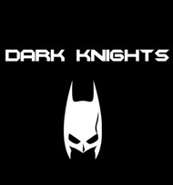 Dark Knights Basketball Team Logo