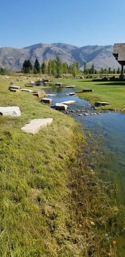 Landscape rock and spawning gravel