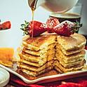 Pancake - Blueberry and Cream