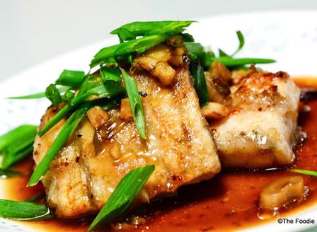 Sea Bass In Chinese Gravy