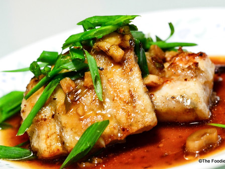 Sea Bass In Chinese Gravy