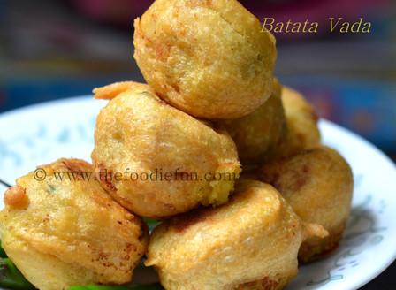 Batata Vada (Potato Fritters)