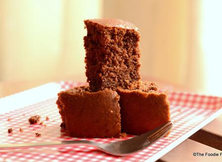 Chocolate Wheat cake