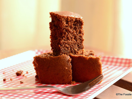 Chocolate Wheat cake