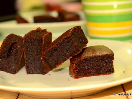 Wheat Chocolate Cake (Eggless)